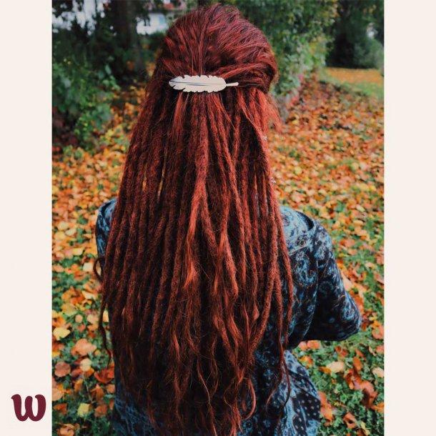 Free Spirit Feather Hair Clip