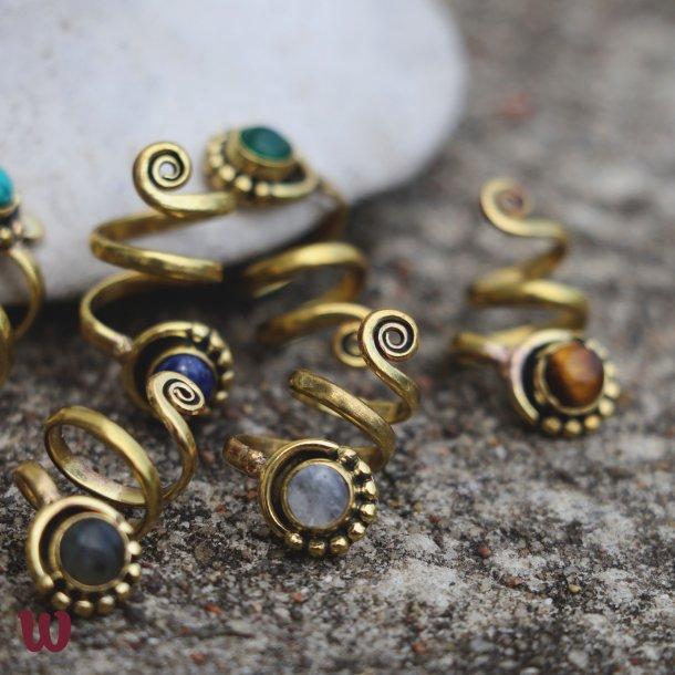 Snake Moon Bead Various Colors